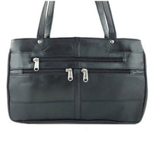 Load image into Gallery viewer, City Chic Black Leather Shoulder Bag