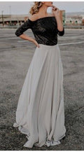 Load image into Gallery viewer, City Chic Grey Chiffon Maxi Skirt