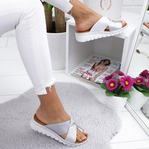 Women Super Comfy Flat Heel Summer Sandals