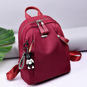 Women Nylon Leisure Large Capacity Shoulder Bag Light Weight Backpack Handbag