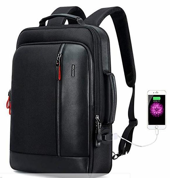 Intelligent Anti-Theft Laptop Rucksack with USB Charging Laptop Backpack