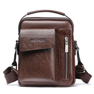 Men Business Multi-pockets Crossbody Bag