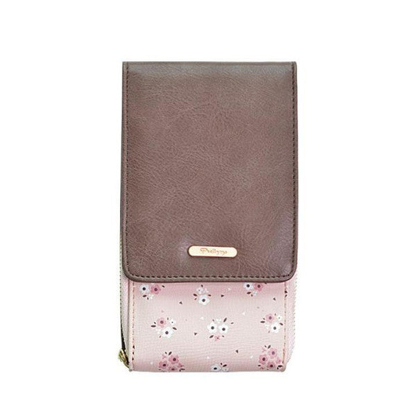 Floral Patchwork Women Cell Phone Purses