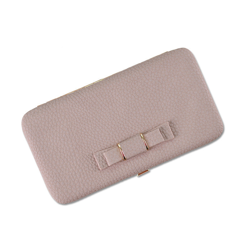 Women Long Design Cute Bowknot Wallet