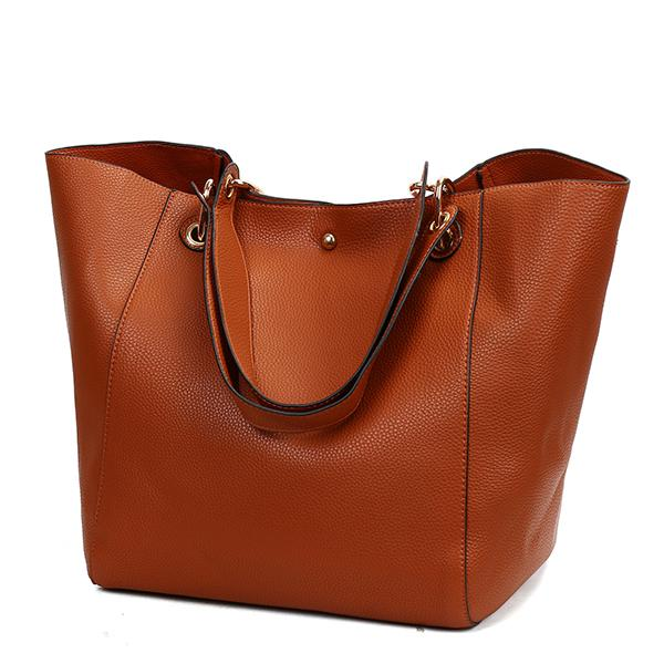2018 New Retro Fashion Ladies Bucket Handbag