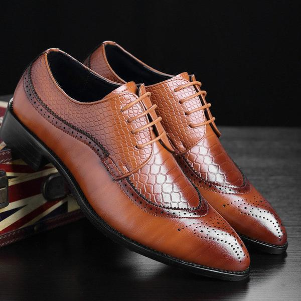 British Style Classic Business Formal Shoes