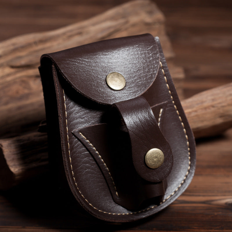 Leather Case Waist Bag Pouch for Slingshot Sport Hunting  Accessories
