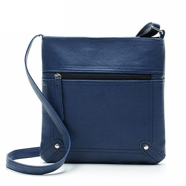 Leather Cross Body Shoulder Bag