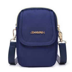 Mini Crossbody Messenger Flap Bag