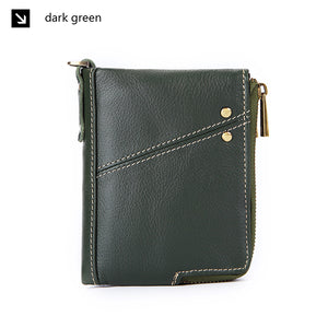 Men RFID Genuine Leather Wallet