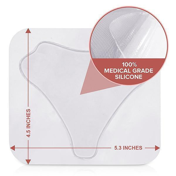 Silicone Anti Wrinkle Chest Pads-Beauty-romancci.com-Triangle-Romancci