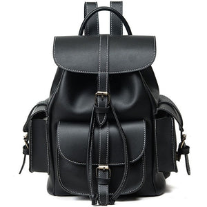 Three Pocket Glossy Backpack