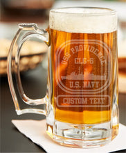 Load image into Gallery viewer, Custom Etched Beer Stein - Custom Military Apparel & Accessories