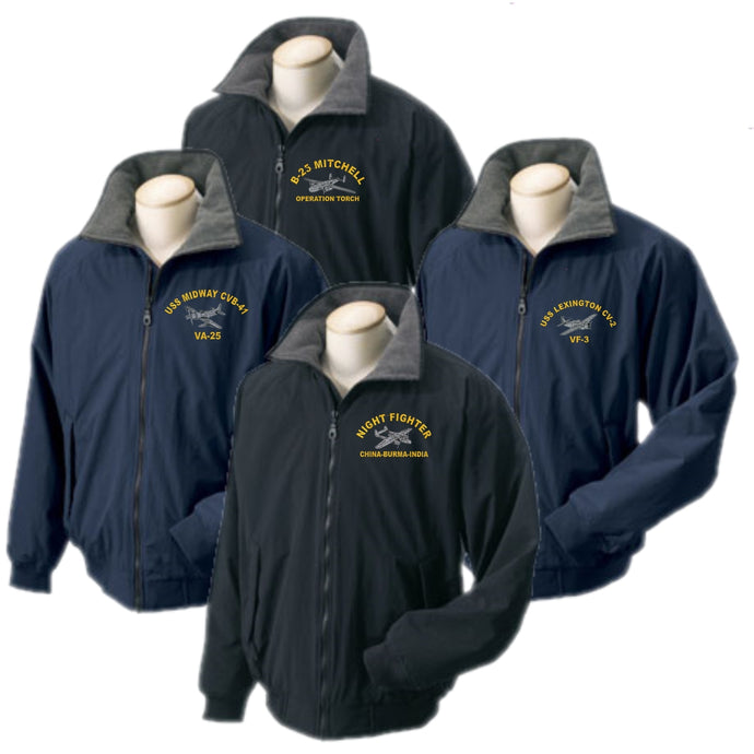 Custom Embroidered WARBIRD Portlander Jacket - Custom Military Apparel & Accessories
