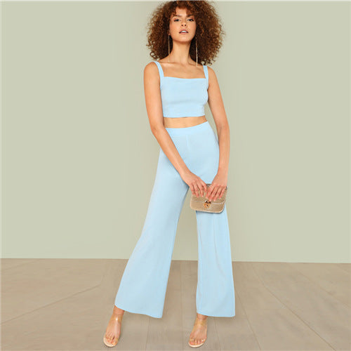 fab58fbaccd20e Baby Blue Crop Top   Wide Trouser Set – purelyopal