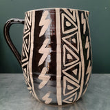 Large Tribal Pitcher
