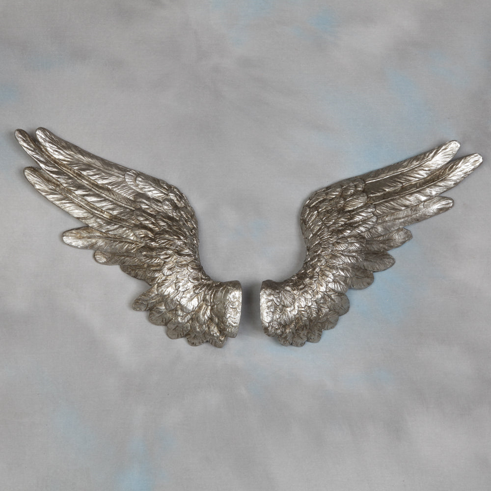Silver Angel Wings
