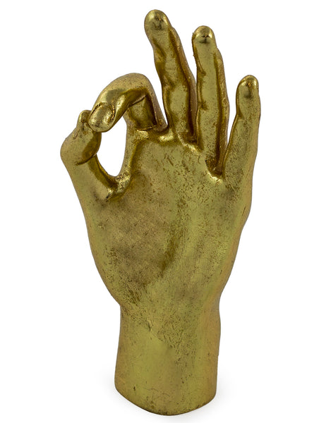 GOLD OK HAND SIGN