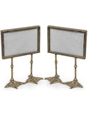 silver duck feet frame