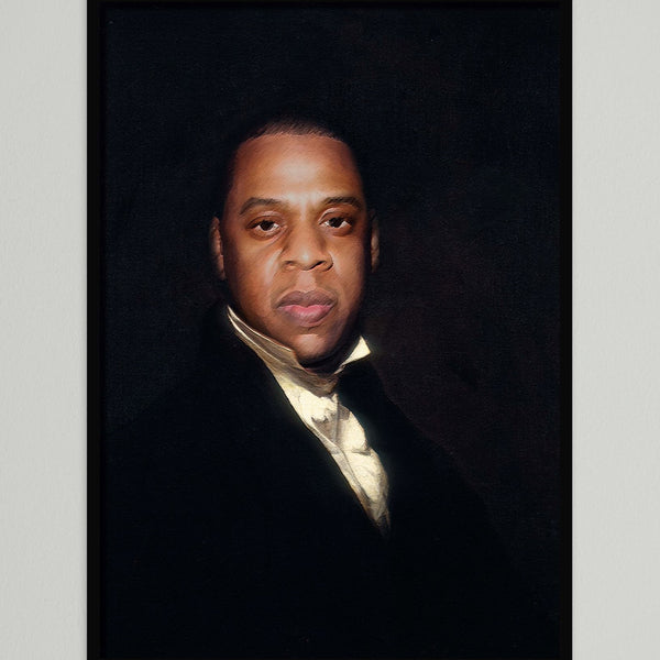 JAY Z PAINTING A3 PRINT