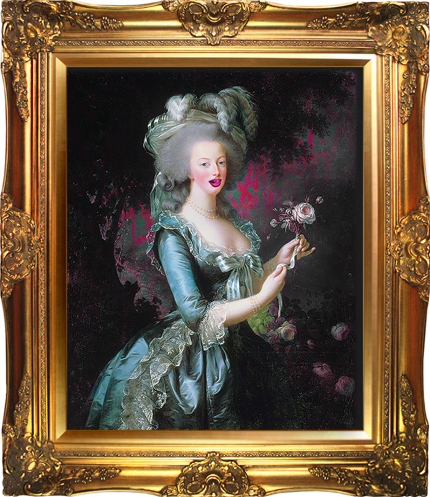 Marie Antoinette Mash Up Print A3