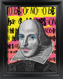 Shakespeare To be Or Not To Be Print A3