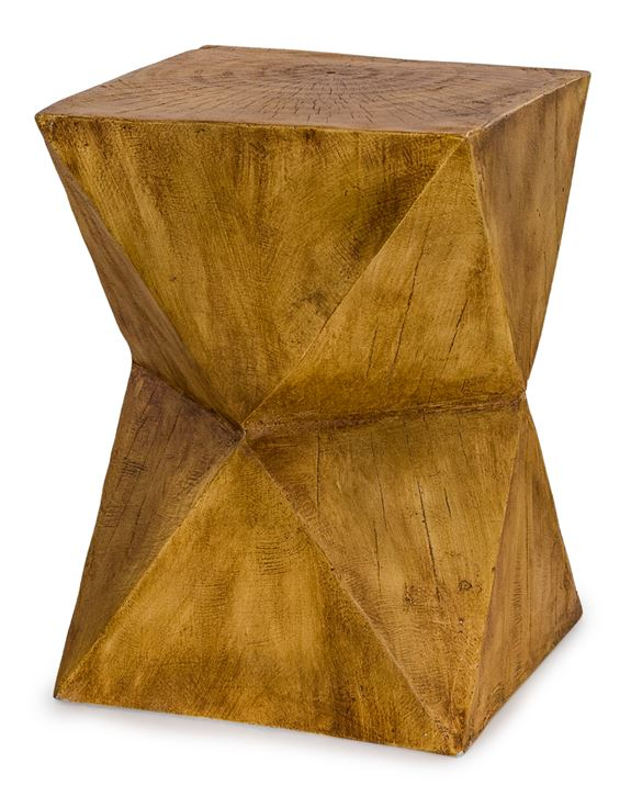Wood Effect Side table / Stool