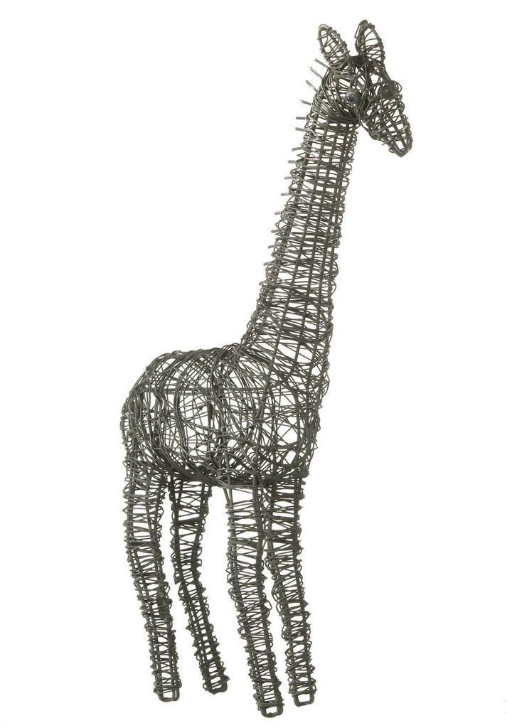 Tall Wire Giraffe Ornament