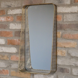 Gold Filagree Rectangle Mirror