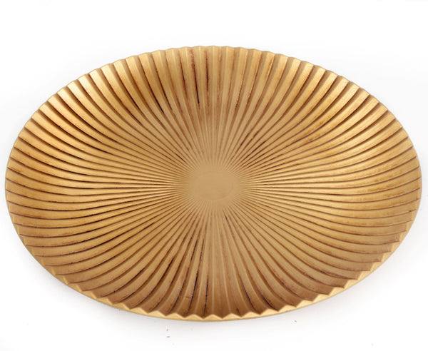 Large Gold Display Plate