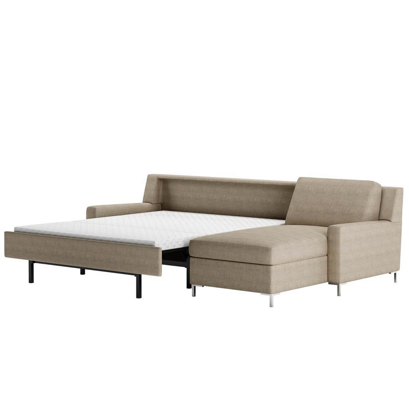 Bryson Sectional Comfort Sleeper by American Leather