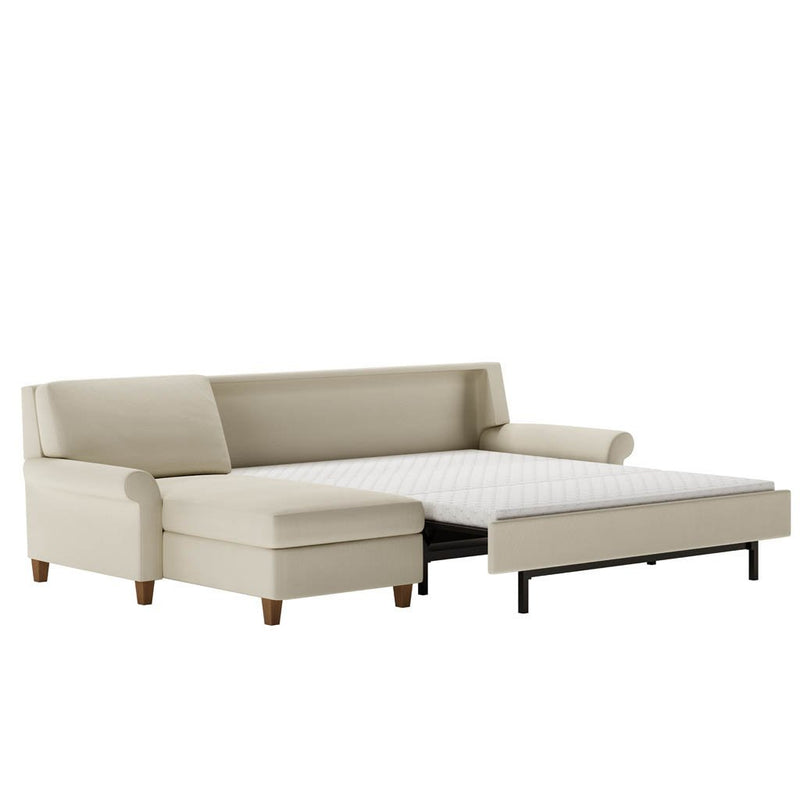 Gibbs Comfort Sleeper Sectional Sofa by American Leather