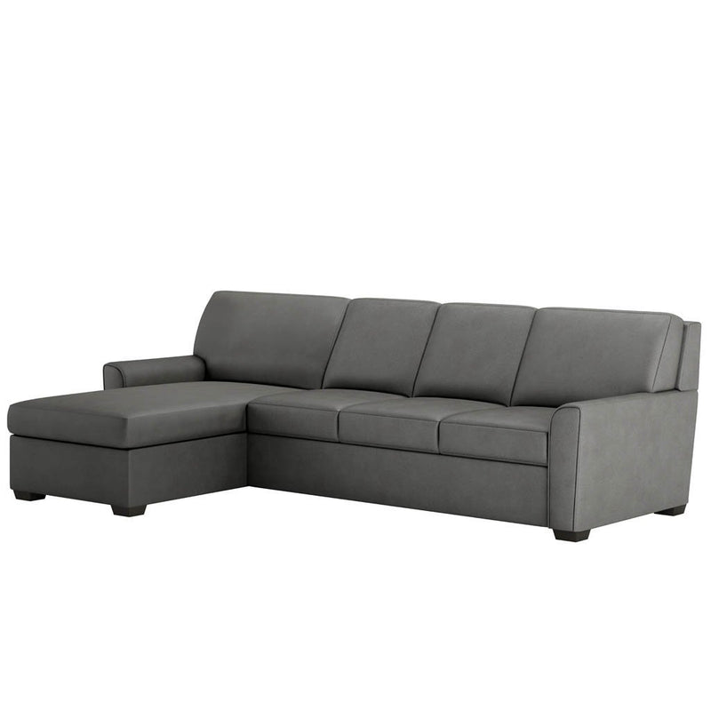 Klein Comfort Sleeper Sectional Sofa by American Leather Closed