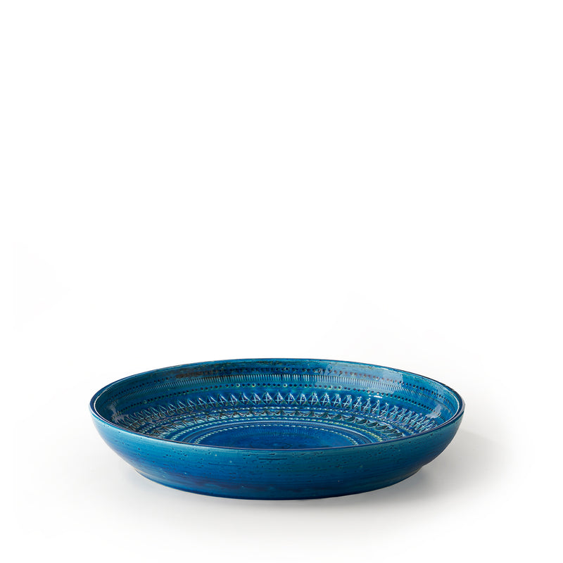 Bowl Rimini Blue by Aldo Londi, Bitossi 68 | Crafthouse