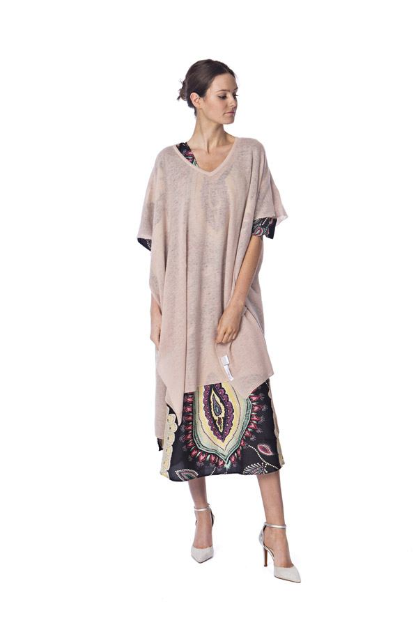 Cashmere Kaftan Amira, Kaftan Dreams by Anissa blush | Crafthouse