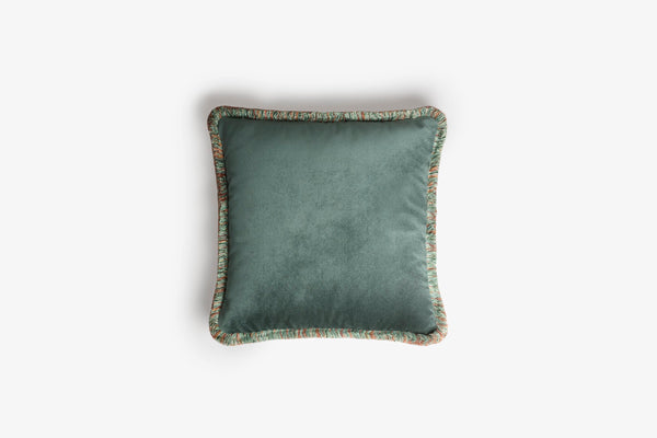 Cushion Happy Teal, LO DECOR blue-green | Crafthouse