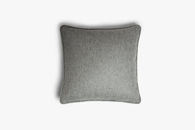 Cushion Tone on Tone, LO DECOR dark grey | Crafthouse