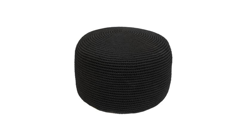 Decorative Pouf, Angela Damman black | Crafthouse Store Kijkduin