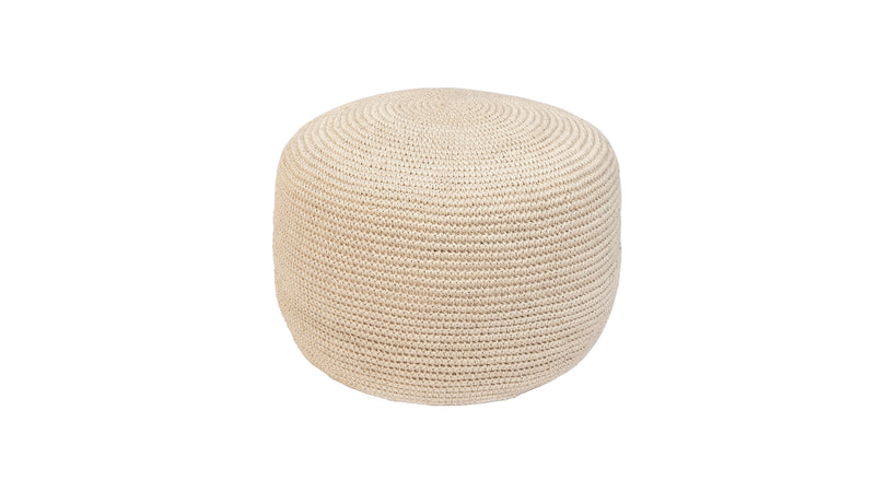 Decorative Pouf, Angela Damman natural | Crafthouse Store Kijkduin