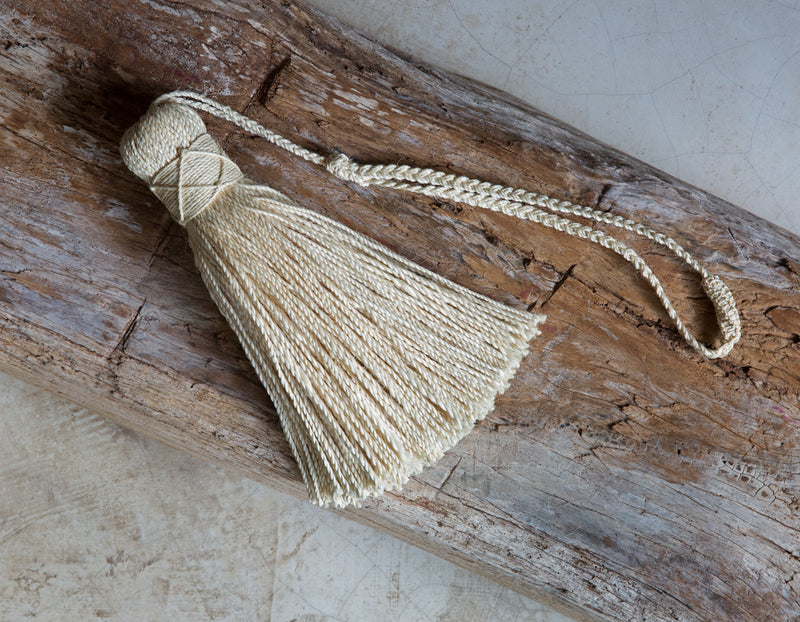 Decorative Tassel, Angela Damman natural | Crafthouse Store Kijkduin