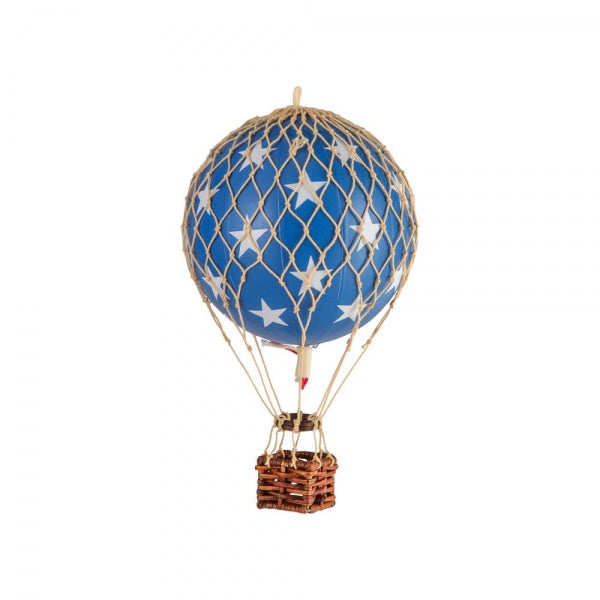 Floating The Skies Balloon Basket, Authentic Models blue stars | Crafthouse Store Kijkduin