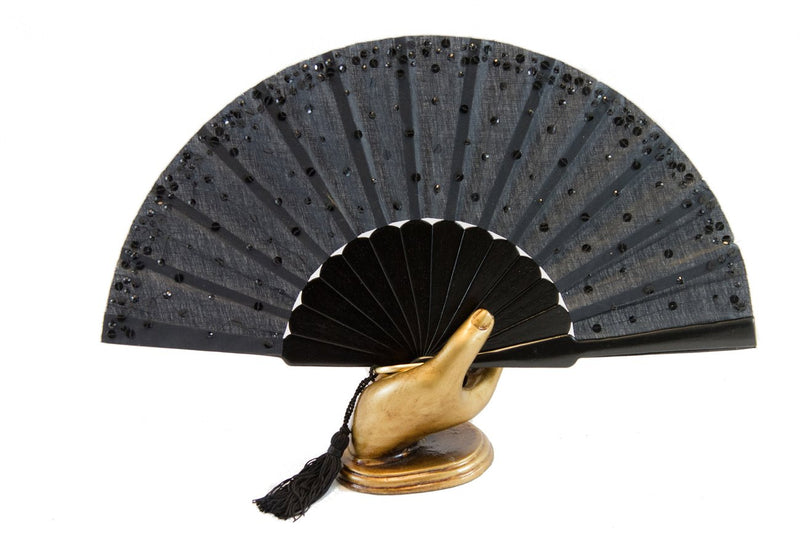 Hand Fan Paris, Rockcoco close-up | Crafthouse Store Kijkduin