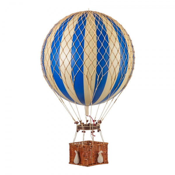 Jules Verne Balloon Basket, Authentic Models blue | Crafthouse Store Kijkduin