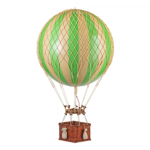 Jules Verne Balloon Basket, Authentic Models true green | Crafthouse Store Kijkduin