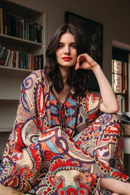 Kaftan Mya, Kaftan Dreams by Anissa batik long | Crafthouse Store Kijkduin