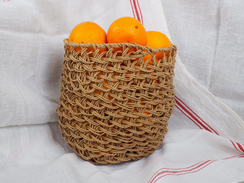 Nutcase Basket, Best Before natural large | Crafthouse
