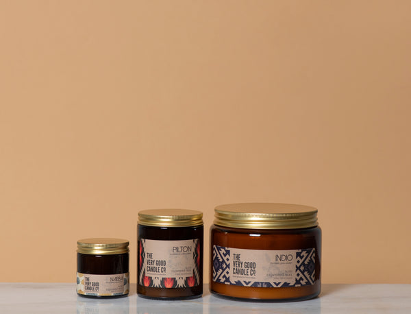 Scented Rapeseed Candle, The Very Good Candle Company sizes | Crafthouse