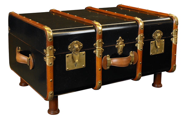 Stateroom Trunk Table Black, Authentic Models | Crafthouse Store Kijkduin