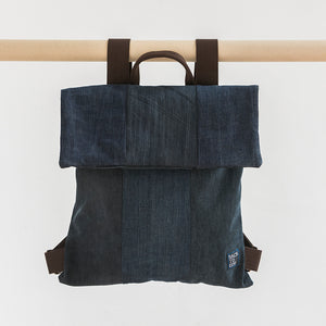 X3 BACK PACK BLUE DENIM DARK - Ethical Brandz