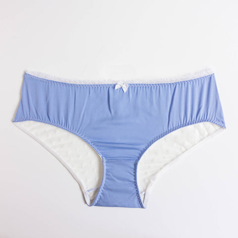 Silk and lace handmade high waist briefs | Capensis | Sustainable lingerie - Ethical Brandz